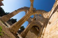 Abandonado de la iglesia de Santa Eulalia Imagen de archivo