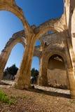Abandonado de la iglesia de Santa Eulalia Imagen de archivo libre de regalías