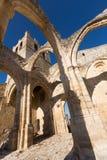 Abandonado de la iglesia de Santa Eulalia en Palenzuela Imagen de archivo libre de regalías