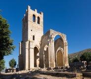 Abandonado de la iglesia de Santa Eulalia en Palenzuela Imágenes de archivo libres de regalías