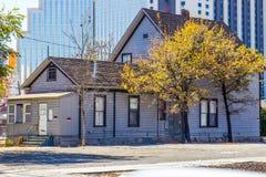 Abandonado dois perdidos home da história à execução duma hipoteca Fotos de Stock Royalty Free