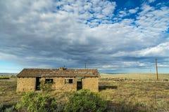 Abandonado en el alto desierto Fotografía de archivo