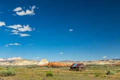 Abandonado en el desierto Foto de archivo libre de regalías