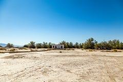 Abandonado en el empalme de Death Valley Imagen de archivo libre de regalías