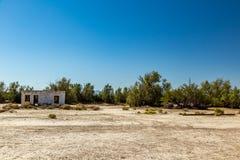 Abandonado en el empalme de Death Valley Imágenes de archivo libres de regalías