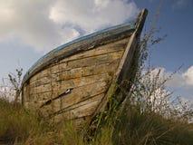 Abandonado en la tierra seca Fotografía de archivo libre de regalías
