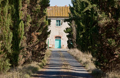 Abandonado en Toscana Fotos de archivo