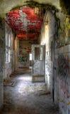 Abandonado en un pasillo del hospital Foto de archivo