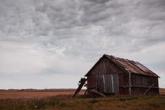 Abandonado nas pradarias Fotografia de Stock