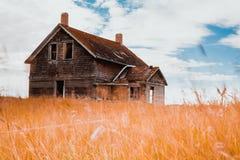 Abandonado nas pradarias Fotografia de Stock Royalty Free