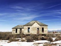 Abandonado para casa Imagens de Stock Royalty Free