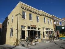 Abandonado 2 pizzería de Amys Imagenes de archivo