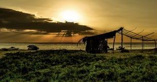 Abandonado por el mar Fotografía de archivo libre de regalías