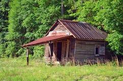 Abandonado un domicilio familiar del sitio Imagen de archivo