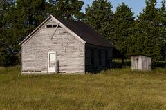 Abandonado una escuela de país del sitio - Kentucky del este Imagen de archivo