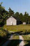 Abandonado una escuela de país del sitio - Kentucky del este Imágenes de archivo libres de regalías