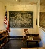 Abandonado una escuela del sitio Imágenes de archivo libres de regalías