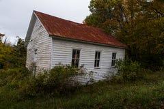 Abandonado una escuela del sitio - montañas de Virginia Occidental Fotografía de archivo libre de regalías