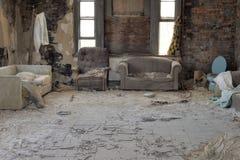 Abandonar-casa Foto de archivo libre de regalías
