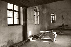 abandonated kyrka Royaltyfria Foton