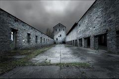 abandonded здание стоковые изображения