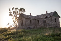 Abandonded-Bauernhof Stockfoto