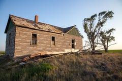 Abandonded-Bauernhof Lizenzfreie Stockfotos