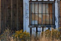 abandonded byggnad Arkivfoto
