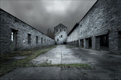 abandonded byggnad Arkivbilder