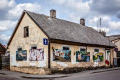 abandonded byggnad Royaltyfria Bilder
