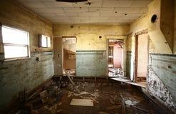 abandonded hus Arkivbilder