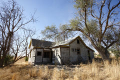 abandonded hus Royaltyfri Bild