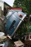 Abandonded Klassiker-Auto Lizenzfreie Stockbilder