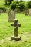 Abandonded kyrkogård Arkivbilder