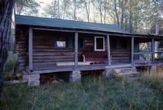 Abandonded Log Cabin Stock Image