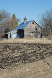 An Abandonded Red Barn Royalty Free Stock Photography