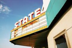 abandonded teatru rocznik Zdjęcie Stock