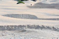 Abandone con las dunas de arena en Gran Canaria España Foto de archivo libre de regalías