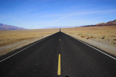 Abandone el camino Foto de archivo libre de regalías