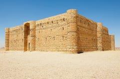 Abandone el castillo Qasr Kharana Kharanah o Harrana cerca de Amman, Jordania Foto de archivo libre de regalías