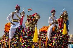Abandone el festival, 2018, Jaisalmer, Rajasthán, la India Fotografía de archivo