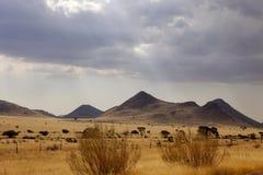 Abandone el paisaje después de una tormenta, Namibia septentrional Imagenes de archivo