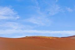 Abandone el paisaje en área volcánica Imagen de archivo