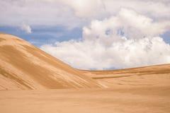 Abandone el paisaje en el gran sudoeste de Colorado de las dunas de arena Fotos de archivo