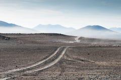 Abandone el paisaje en la meseta Altiplano, Bolivia Imágenes de archivo libres de regalías