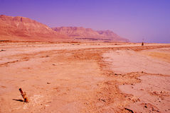 Abandone en Israel en el área del mar muerto Imagen de archivo libre de regalías