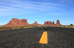 Abandone a estrada Fotografia de Stock