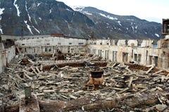 Abandone a fábrica Foto de Stock Royalty Free