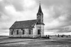 Abandone-Kirche Stockbild