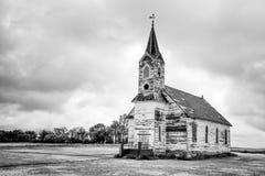 Abandone-Kirche Stockfotos